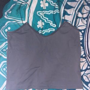 Cropped Spaghetti Strapped Tank Top